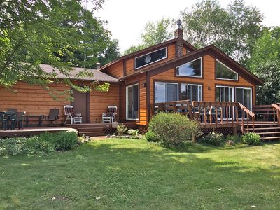 Spacious and Serene, Rustic Mille Lacs Cabin