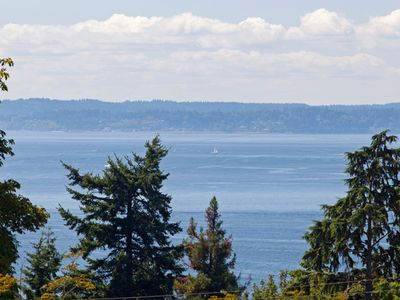 Stunning Puget Sound And Mountain Views