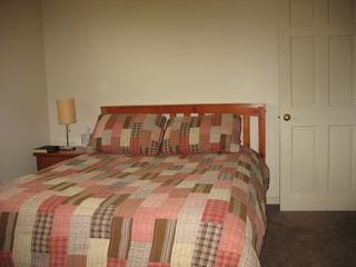 Bridgewater Corners farmhouse photo - Bedroom 1- Queen