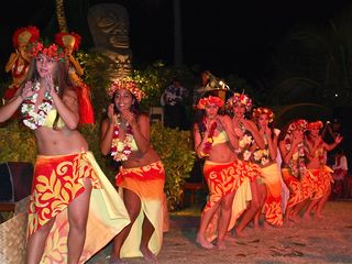 Bora Bora house photo - Don't miss the Traditional Tahitian dance!