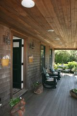 Surfside Nantucket house photo - Cozy Front Farmer's Porch featuring music from the Bose Sound System