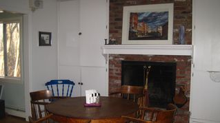 East Greenwich house photo - Kitchen/dining room..table has 3 leaves and comfortables seats 12...plus seating