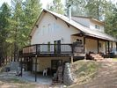 lakeside of the house - Lake Roosevelt house vacation rental photo