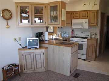 Partial View of Kitchen and New Appliances