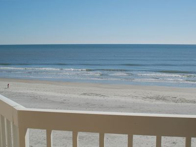 Charleston Oceanfront Villas - Balcony view