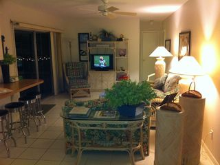 Vacation Homes in Marco Island house photo - Family room, perfect for the kids, adults get the big screen in the living room