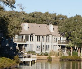 Kiawah Island villa photo - Our villa is the one on the right