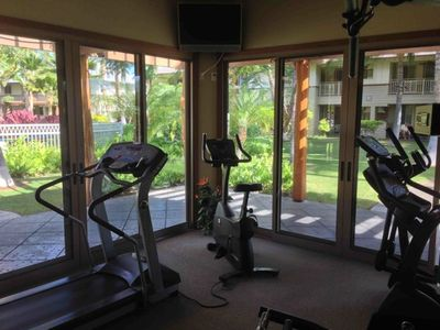 Palm Villas Fitness Room