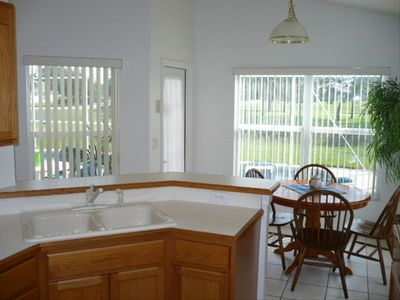 Indian Creek house rental - Enjoy morning coffee overlooking the pool and the park!