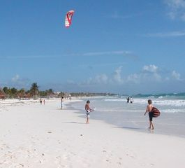 Tulum house photo - Wind surfing available 100 yards north of the House