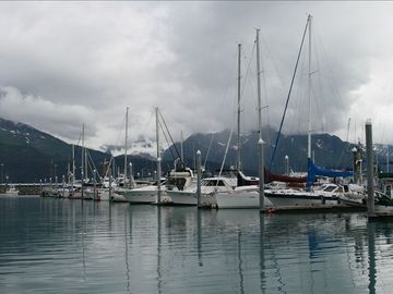 Heading out for a day on the Kenai Fjord's National Park tour in Seward.
