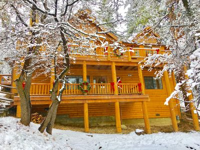 Storybook Manor-Seclusion,Views,Hot-Tub,Pool,Table,Wi-Fi Mins to Village &Slopes