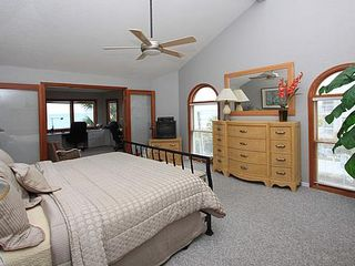 Indian Rocks Beach house photo - Master Bedroom and Adjoining Office