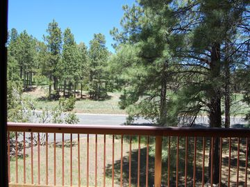View of Golf Course off Front Deck - 2