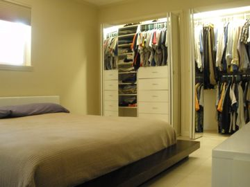 Plenty of closet space!