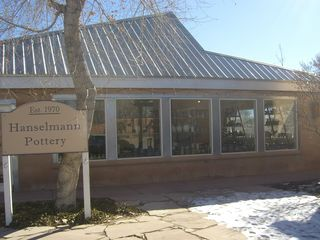 Albuquerque house photo - Hanselmann Pottery with on-your-honor payment, and unique, beautiful pieces.