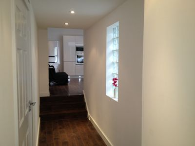 Hammersmith & Fulham apartment rental - Coridor to living area