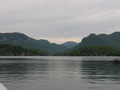 Take a boat trip to the middle of Lake Lure. This is the MILLION DOLLAR VIEW!!