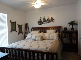 North Padre Island condo photo - Master Bedroom with King size bed!