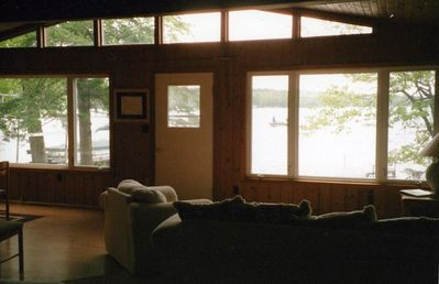 Enjoy the View of the Lake from the Living Area