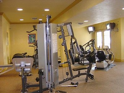 Fitness Center at the Clubhouse.