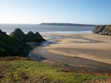 Three Cliffs Bay, Just a short distance away