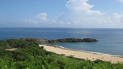 Manati apartment rental - Three minute walk to this beach adjacent to Mar Chiquita Beach