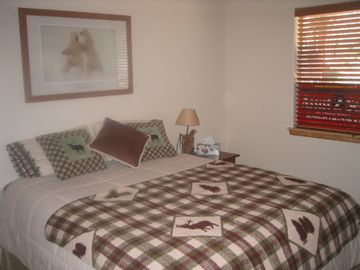 2nd Guest Bedroom with a Queen Size Bed and pillowtop mattress...and a TV/DVR...