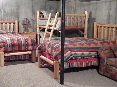 Bunk Beds & two twin Beds in Dorm Area