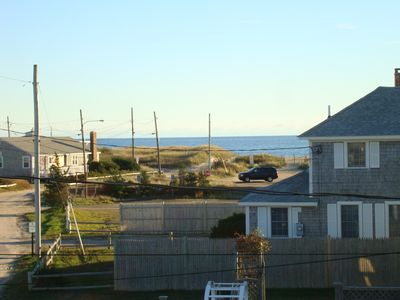 Ocean View of S. Village Beach from 2nd Floor Master Bedroom!