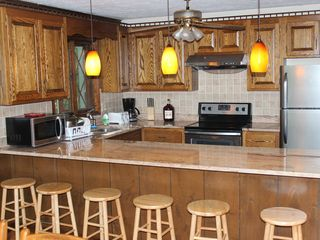 Big Bass Lake house photo - Kitchen with granite counter top