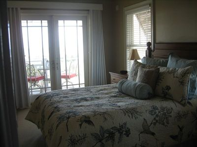 Gulf Front West Master Bedroom