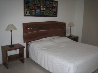 San Juan del Sur townhome photo - Master Bedroom with En Suite and private terrace with beach view