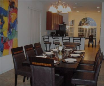 "Crystal Cove villa rental - Villa La Palme D'Or ""The Formal Dining Area"""
