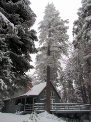 Lake Arrowhead cabin photo - View from the road