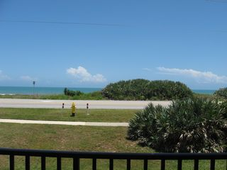 Ormond Beach condo photo - Unobstructed direct ocean view from balcony