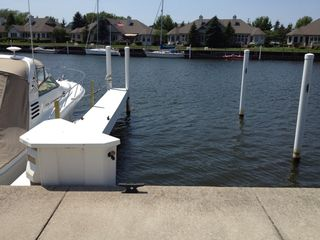 Manistee condo photo - Private 40' boat slip