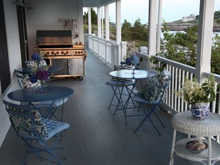 Ogunquit house photo - Porch, Grill & Setting area