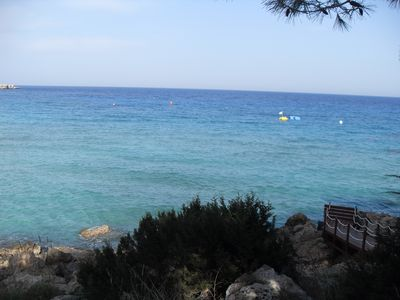Konnos Bay in Famagusta region of Cyprus