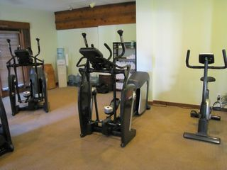 Fitness equipment available for guests on the property - North Naples condo vacation rental photo