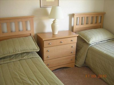 One of the Upstairs Twin Bed Rooms