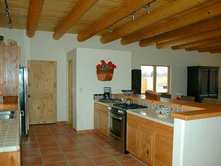 Taos house photo - Large fully equiped kitchen