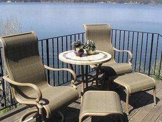 Coeur d 'Alene house photo - Portion of large Veranda over the Lake