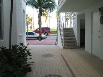 Ocean Drive entrance (now with a gate and code to get in for private access)