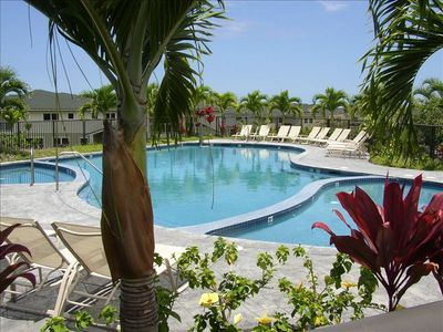Kailua Kona condo rental - Pool, whirlpool spa, & children's pool.