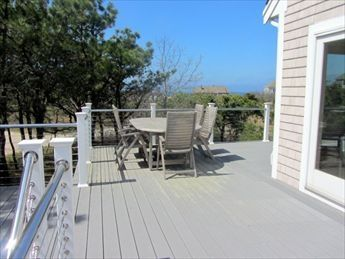 Wonderful wrap-around deck with great views of the bay