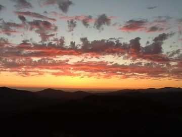 Atascadero villa rental - View from Great Room Sunset in Paradise