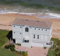 St. Augustine house photo - Now that's Oceanfront ... 9 year old home ...