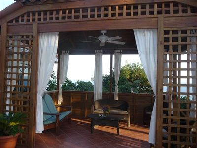 the romantic and relaxing palapa with great views