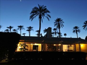 Rancho Mirage house rental - Back of the house just steps from the pool.